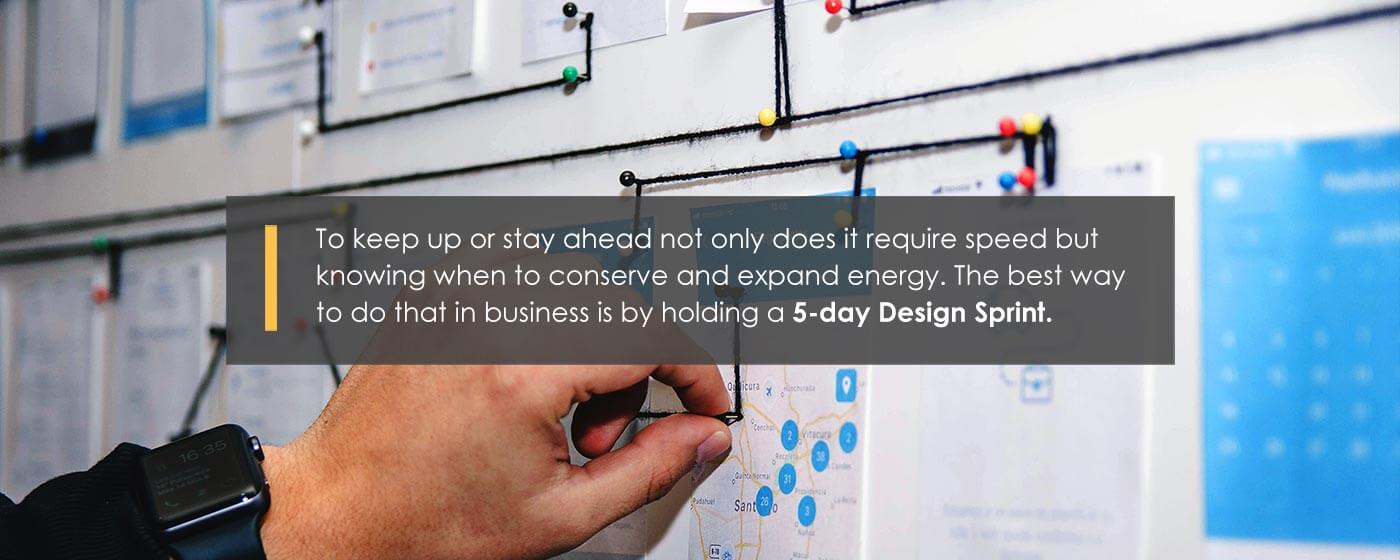 Image of Design Sprint thumbnail with quote